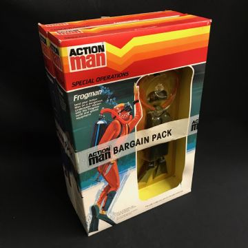 VINTAGE ACTION MAN - COMBAT DIVISION BARGAIN PACK - ULTRA RARE